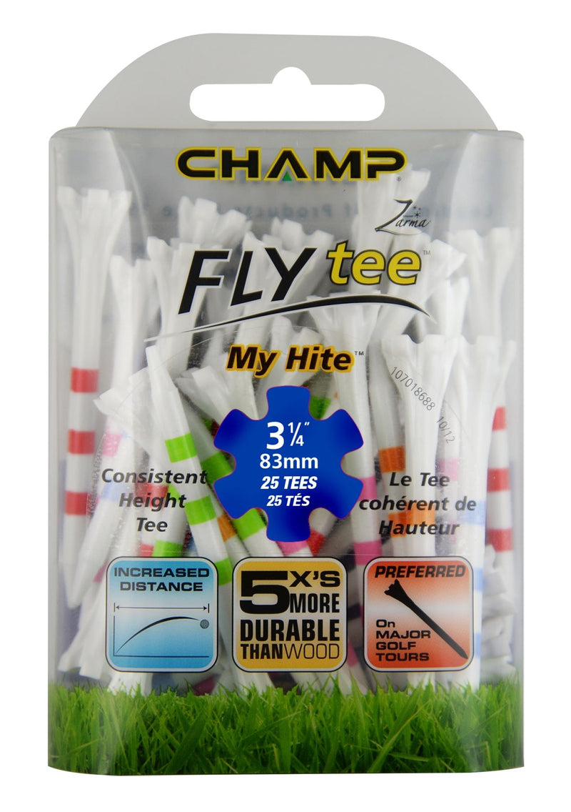 "MyHite Flytee - 3 1/4"" 25 Pieces"