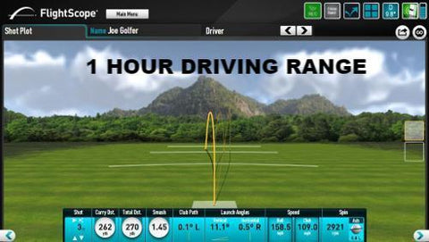 1 Hour Simulator Driving Range - NGW Niagara Golf Warehouse