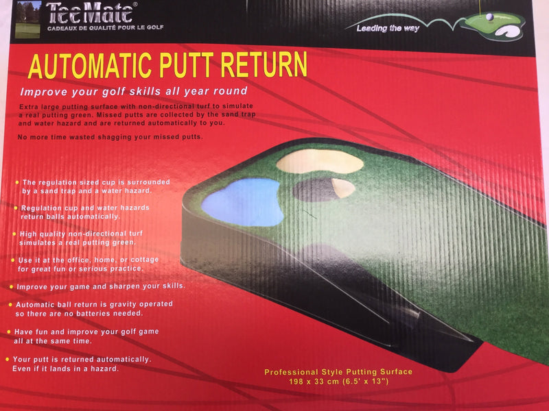 Automatic Putt Return