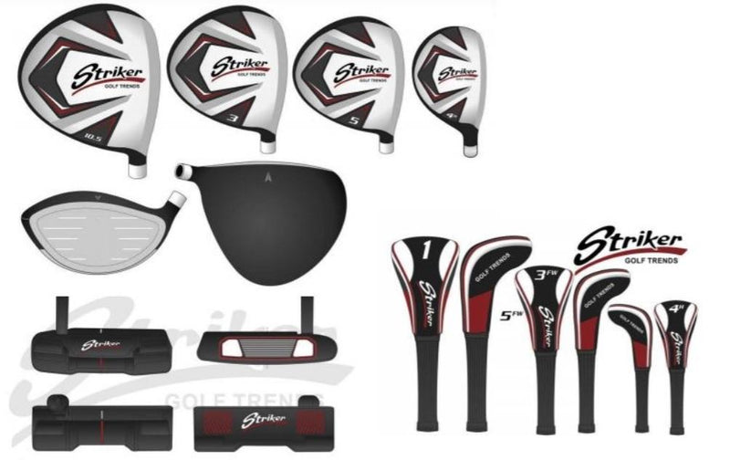 Golf Trends Striker Men's Complete Package Set