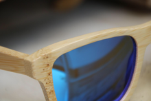Kids Tri Hard Handmade Bamboo Sunglasses