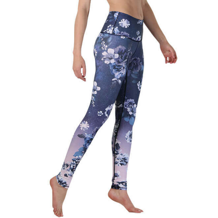 Yoga tights Flowerful