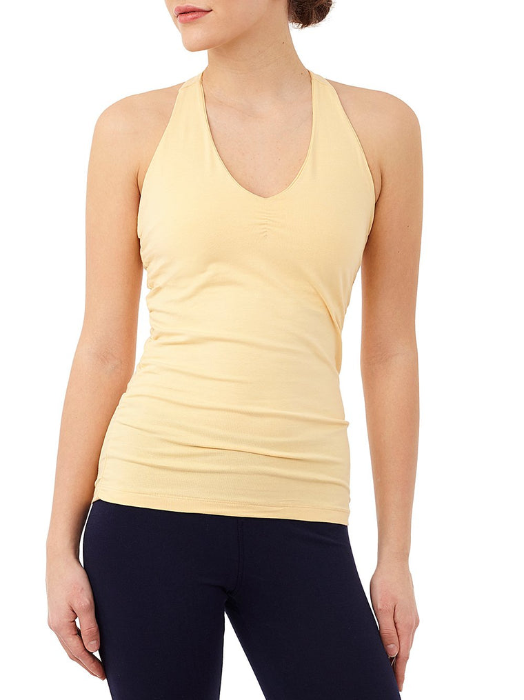 V-neck tank yoga topp - Caress