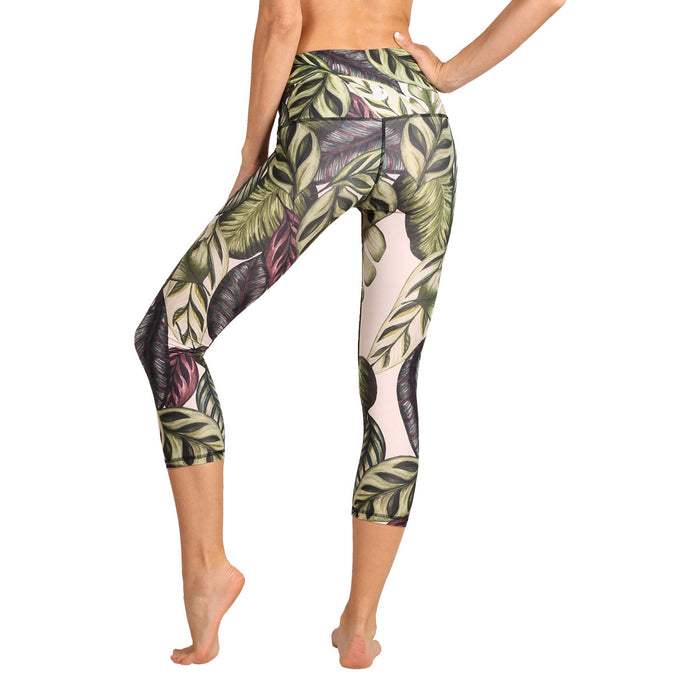 Capri yoga tights Leaf It To Me