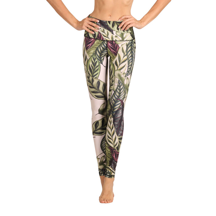 Yoga tights Leaf It To Me