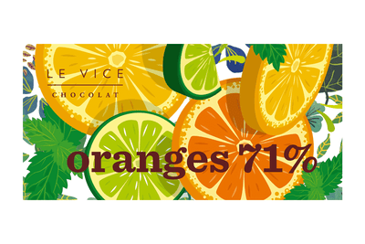Tableta Oranges 71% - Flores A Domicilio