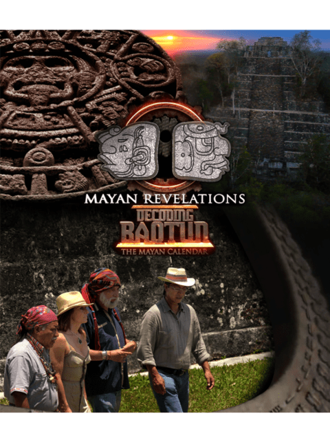 DVD MAYAN REVELATIONS TRILOGY: DECODING B'AQTUN