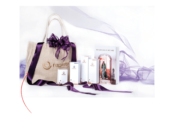 Replete skincare system perfect gift