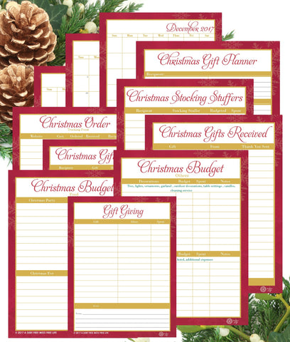 Christmas Budget Planning Bundle