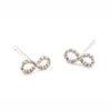 TAI PAVE INFINITI  MINI STUD EARRINGS