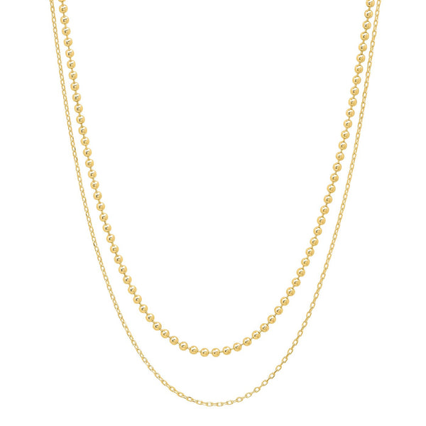 TAI FRESHWATER PEARL GOLD NECKLACE