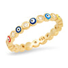 TAI ENAMEL EVIL EYE RING