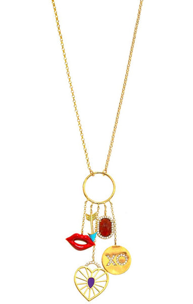 TAI Glam Charm Necklace