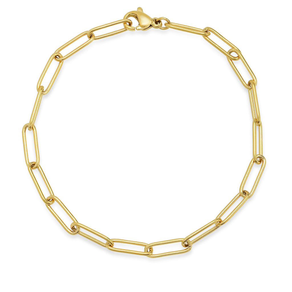 TAI LARGE OVAL CABLE LINK BRACELET