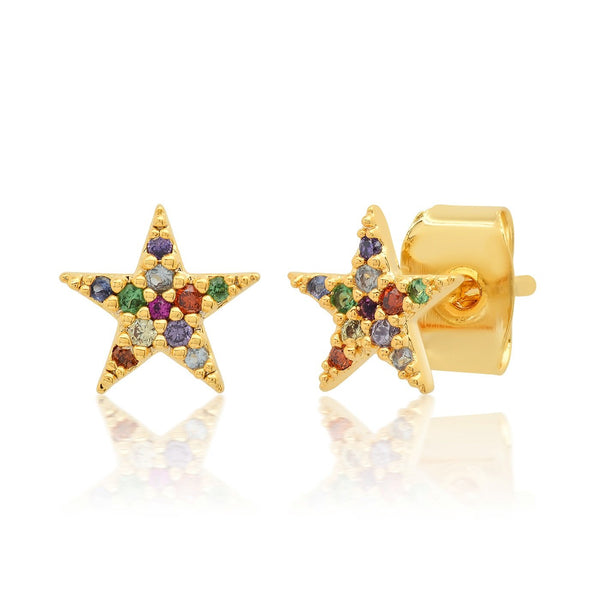 TAI RAINBOW STAR STUDS