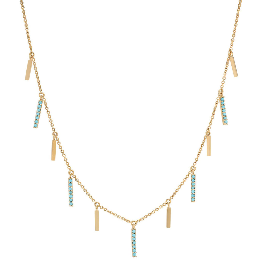 TAI Turquoise Stick Necklace