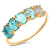 TAI Crystal Birthstone Ring