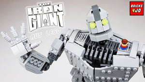 Bricks4Jo Showcases Our Custom LEGO Iron Giant