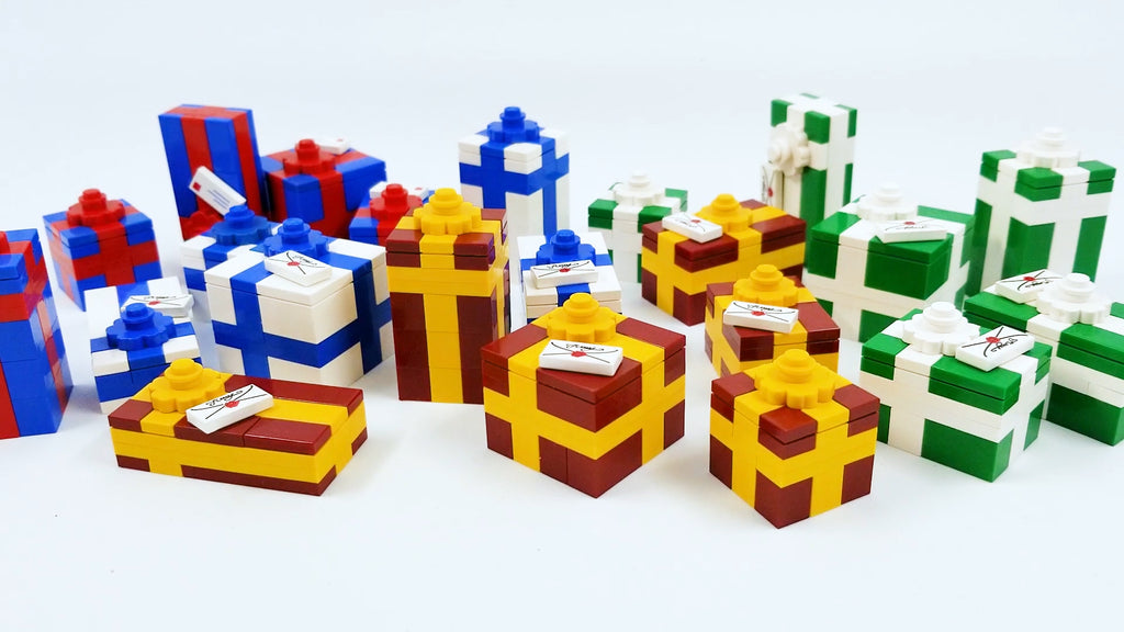How To Build LEGO Christmas Presents