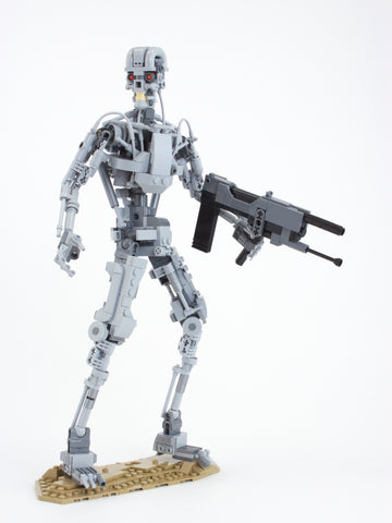 Instructions for Custom LEGO Terminator T-800