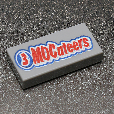 3 MOCateers Candy Tile