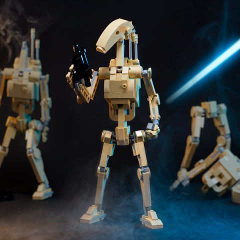Instructions for Custom LEGO Star Wars Battle Droid