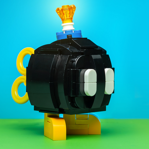 Instructions, Parts List for Custom LEGO Nintendo Bob-Omb