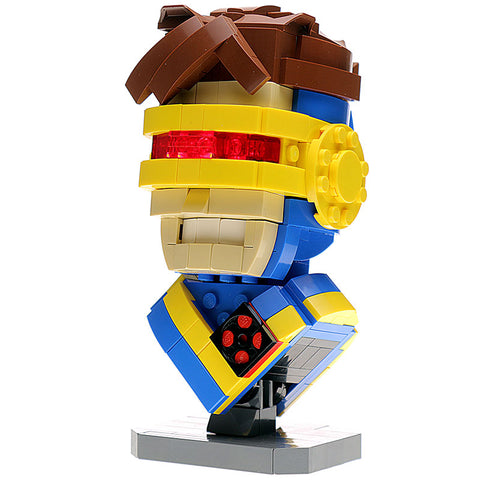 Custom LEGO Cyclops Bust Instructions