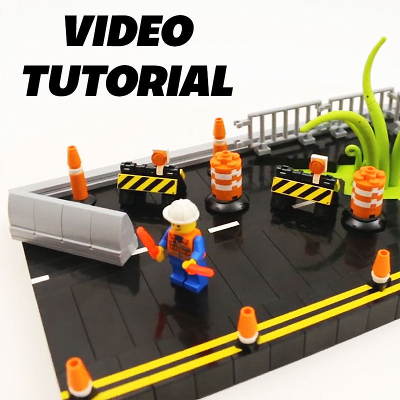 Video: How to Build LEGO City Construction Barricades ...
