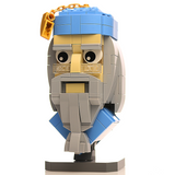 Instructions for Custom LEGO Albus Dumbledore Bust