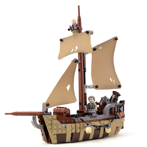 Custom Lego Instructions Tagged Pirate Ship Build Better Bricks