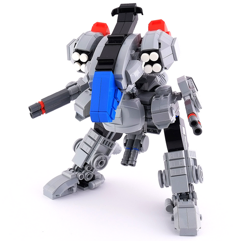 Instructions for Custom LEGO Rex Mecha (Robotech Inspired)