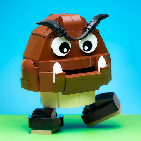 Instructions, Parts List for Custom LEGO Nintendo Goomba