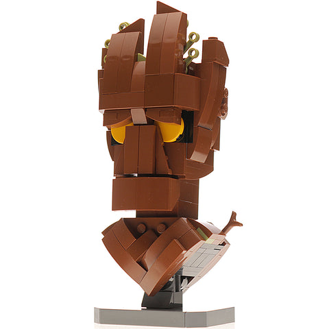 Custom LEGO Groot Bust Instructions, Parts List