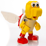 Instructions, Parts List for Custom LEGO Nintendo Red Koopa