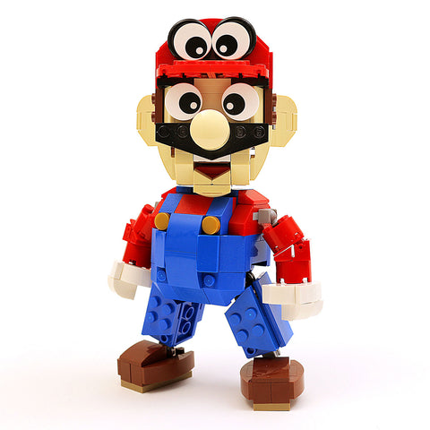 Instructions, Parts List for Custom LEGO Nintendo Mario Odyssey Figure