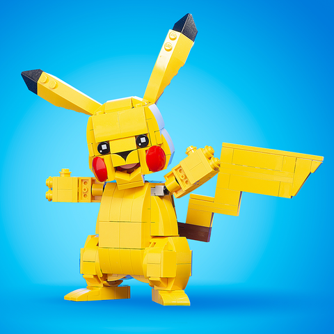 Instructions for Custom LEGO Pika