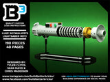Custom LEGO Luke Skywalker Return of the Jedi Lightsaber w/ Stand Instructions