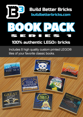 Custom LEGO Classic Books Pack (Series 1)