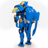 Instructions for Custom LEGO Overwatch Pharah