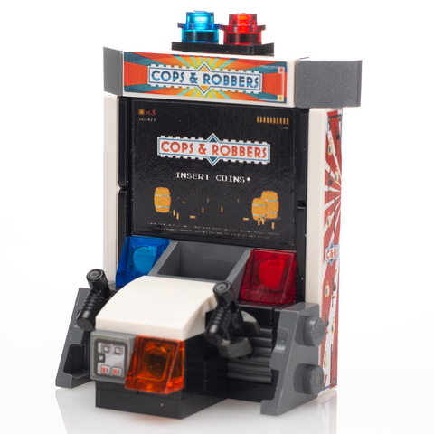 Cops & Robber - Custom LEGO Shooter Arcade Game