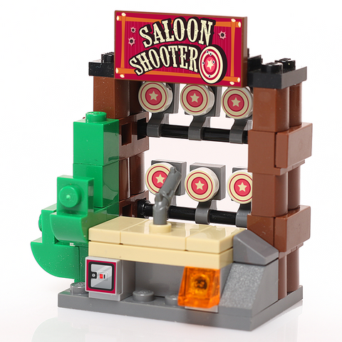 Custom LEGO Saloon Shooter Arcade Game