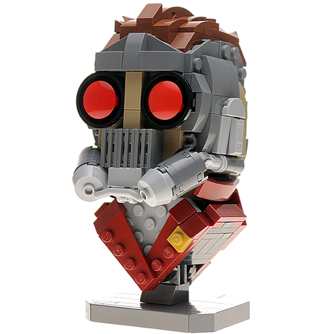 Custom LEGO Starlord Bust Instructions