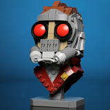 Instructions for Custom LEGO Starlord Bust