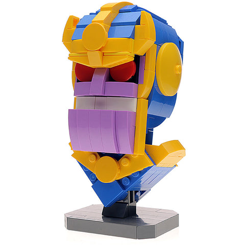 Custom LEGO Thanos Bust Instructions