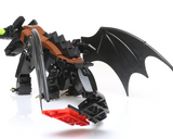 Instructions for Custom LEGO Toothless Dragon, How to Train Your Drain