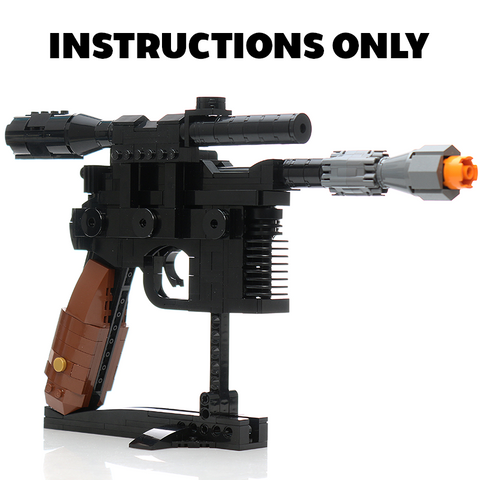 Instructions for Custom LEGO Millennium Blaster