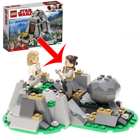 Alternate Build: LEGO Star Wars Ahch-tu Island Training Set 75200 Instructions
