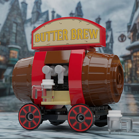 Butter Beer - Custom LEGO Vending Cart
