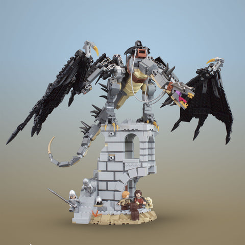 Instructions for LEGO Lord of the Rings Fell Beast & Display Stand